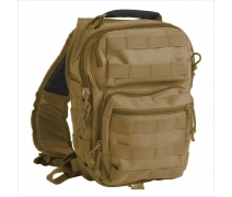 Mil-Tec Çapraz Çanta ONE STRAP ASSAULT PACK SM COYOTE