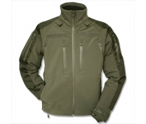 SOFTSHELL JACKET MIL-TEC PLUS OLIV MONT